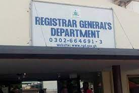 Registrar-General's Department provides free sanitizers to staff, clients