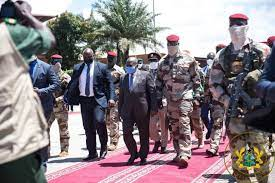Akufo-Addo lands in Guinea for crucial talks with military junta | 3NEWS