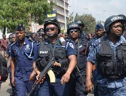 JUST In: Ghana Police Service unveils special Anti-Robbery Task Force to  'battle' armed robbers